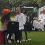 St Ben's Monks at Taize Pilgrimage